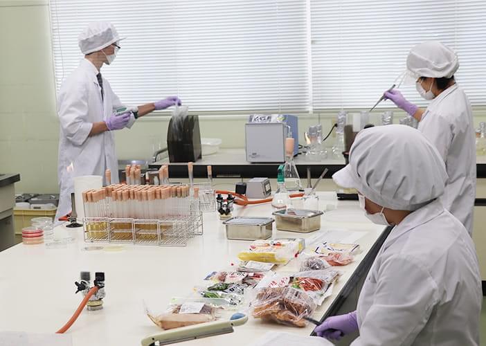 2005年「やまぐち食の安心・安全研究センター」として生まれ変わりました
