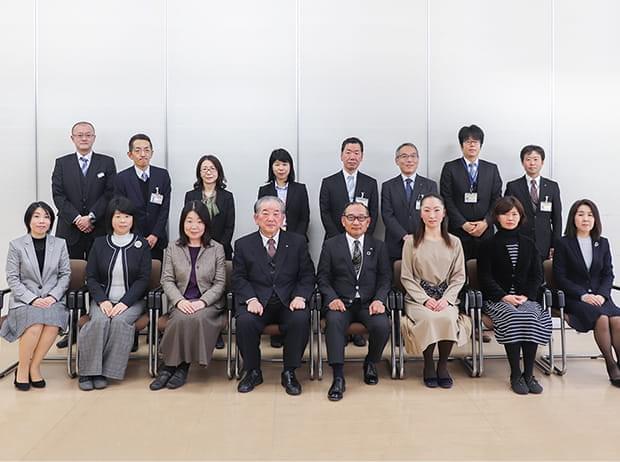 山口市との行政懇談会の様子(2020年1月)
