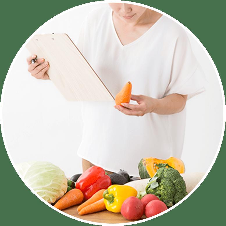 管理栄養士が監修した栄養バランス